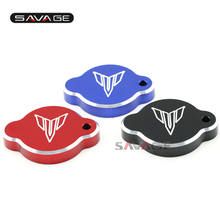 FOR YAMAHA MT-09/FZ-09 2014 2015 2016 Radiator Caps Water tank Covers Water Tank Caps Motorcycle Accessories CNC Aluminum(China)