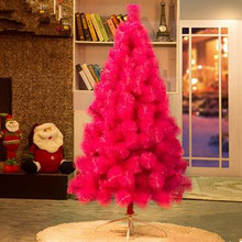 1.5 m /150cm Pink Encrypted Christmas Tree Full Song Pin Tree Christmas Hotel Shopping Mall Home Decoration Decoration(China)