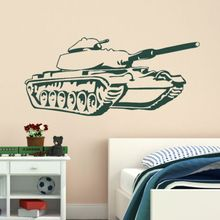 Wall Stickers Home decor DIY poster Wall Decals for kids room Lads Tank mural Military Interior Army British Solider