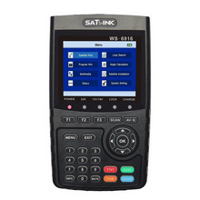 Original Satlink WS 6916 Satellite Finder DVB-S2 MPEG-2/MPEG-4 Satlink WS-6916 High Definition Satellite meter TFT LCD Screen