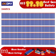 50/100/200 Pcs Lightweight EVA Bullet Darts Soft Gun Air Gun Bullets Darts For NERF N-Strike Series Blasters Kid For Toy Gun(China)
