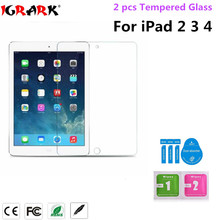 For iPad 2 3 4 Tempered Glass screen Protector 2.5D 9h Safety Protective Film For iPad2 iPad3 iPad4 A1396 A1430 A1459 A1460 9.7(China)