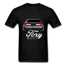 Foxy Body Ford Mustang T Shirt Men Short Sleeve Crewneck 100% Cotton Plus Size XS-XXXL Racer CAR Team TEE Shirts For Boys(China)