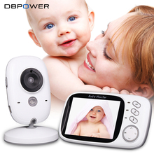 DBPOWER Video Baby Monitor VB603 Security Mini Camera with 3.2 Inches Screen 2.4G Wireless 2 Ways Audio Talk & Night Vision