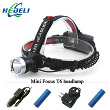 Lights Outdoor Mining Cree Headlamp XML T6 Lamp Suitable 18650 Rechargeable Battery Lantern Head Torch LED Headlight Flashlight