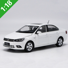 1:18 Volkswagen All NEW JETTA Alloy Diecast Car Model For Adult Birthday Gifts Toy Collection Free Shipping
