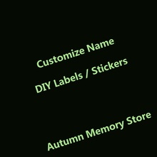 6 Colors Personalize Customize Logo DIY K9 Dog Harness Label Sticker Night Fluorescence Pet Harness Label