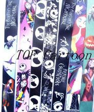 Free Shipping 50 Pcs Popular Nightmare Before Christmas Mobile Key Chains  Phone Neck Straps Keys Camera ID Card Lanyard  W125