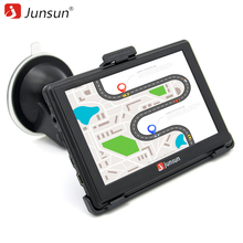 Junsun 5 inch HD Car GPS Navigation Bluetooth AVIN Capacitive screen FM 8GB/256MB Vehicle Truck GPS Europe Sat nav Lifetime Map