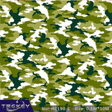 0.5M*10M Camouflage Water Transfer Printing Film HC190-S, Hydrographic film, Decorative Material(China)
