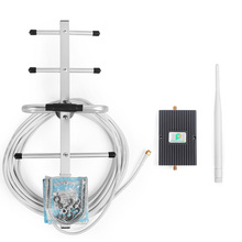 65dB Verizon LTE 700MHz 4G Mobile Phone Signal Booster Repeater Amplifier with Indoor Whip Antenna and GSM Yagi Antenna