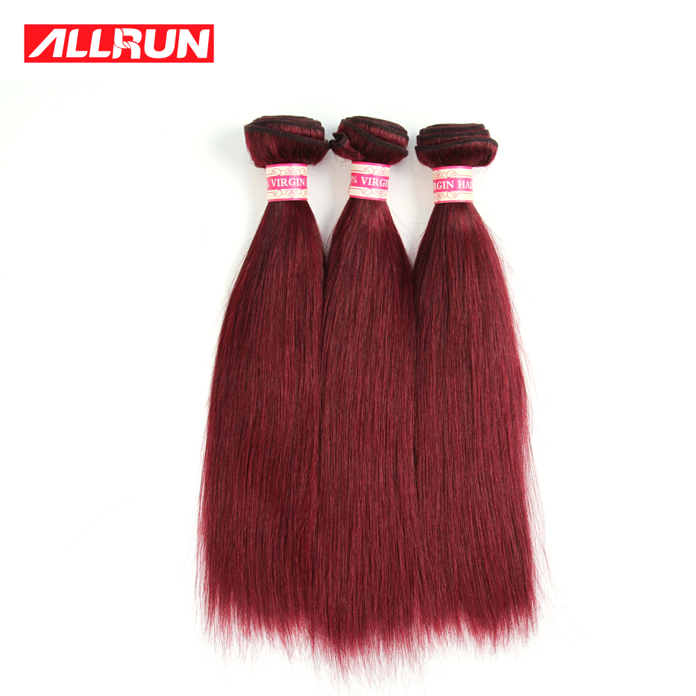 Peruvian Virgin Hair Straight Cheap Burgundy Weave Ombre Hair Extensions 7A Red Hair Bundles Ombre Human Hair 3Pcs/lot No Tangle<br><br>Aliexpress