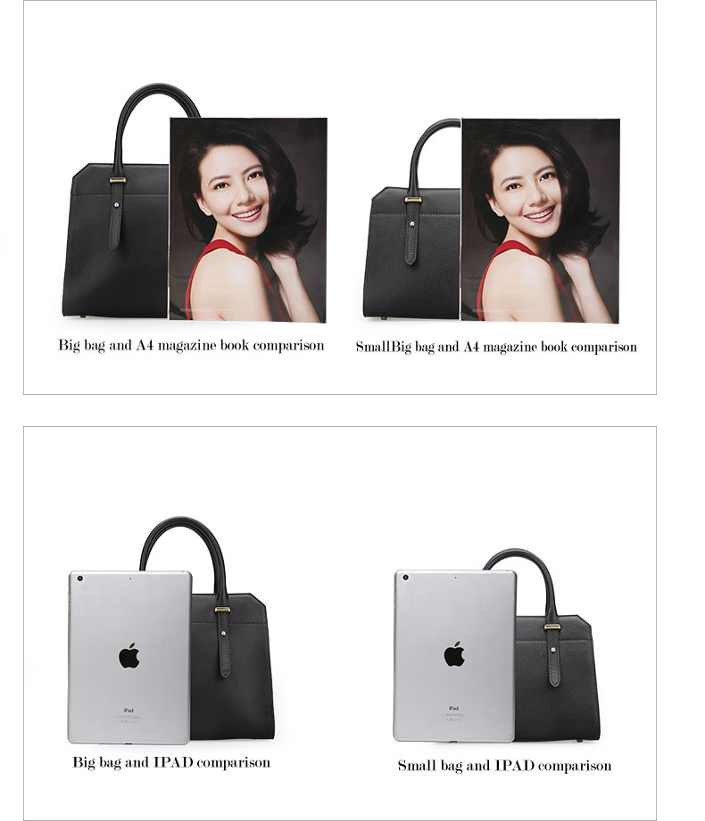 Famous luxury Brands Women Genuine Leather Bag Ladies Tote Embossed leather Boston handbags 2017 Fashion Female Versatile Bag H51340227 (7)