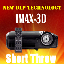 Ultra Short Throw DLP Projector 7500 lumen UHP lamp Projector Full HD 3D TV Projectors Smart Portable 3D 1080P Android Bluetooth