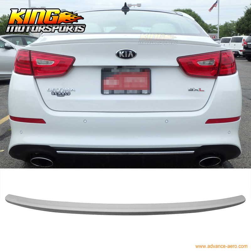 Fit For 14-15 Kia Optima Flush Mount Trunk Spoiler OE Style Unpainted ABS<br><br>Aliexpress