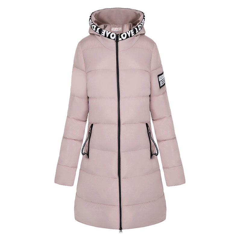 2017 New Winter Jacket Women Hooded Thicken Coat Female fashion Warm Outwear Down Cotton-Padded Long Wadded Jacket Coat ParkaÎäåæäà è àêñåññóàðû<br><br>