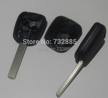 HK Post Fast Shipping For 10PCS/Lot Peugeot 307 Transponder Key Shell Without Groove VA2 Blade(China)