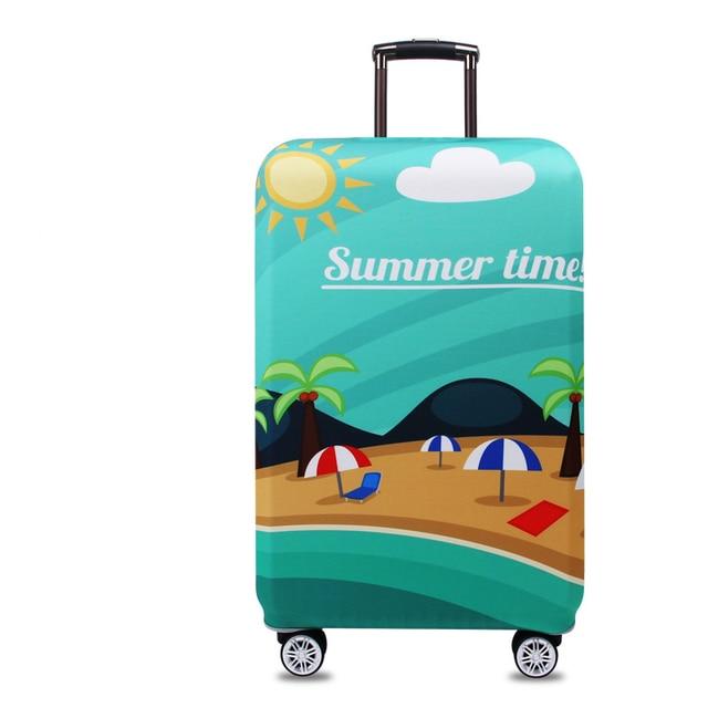 Funda para maleta, impresiñon summer