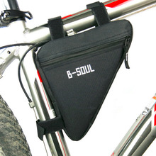 Cycling Bike Bicycle Oxford Cloth Front Frame Pannier Tube Triangle Bag Saddle Pouch 4colors Availabledrop shipping