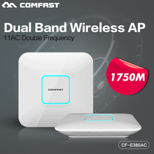 Buy 2p Comfast Indoor ap 1750M Wireless Access Point ethernet poe 11 AC gigabit Dual Band wifi 2.4+5.8G Mi AC Router WiFi Roteador for $264.60 in AliExpress store