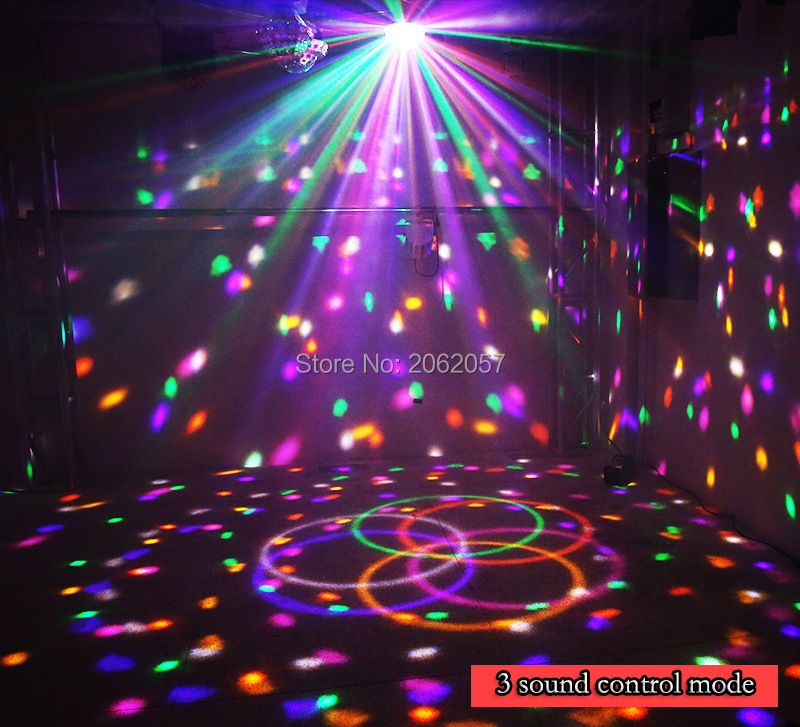 fast shipping Disco ball 256 carfacetadoras lens crystal ball wireless bluetooth projectors for christmas dj wedding party rotating laser light (5)