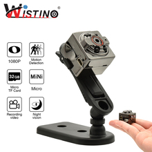Buy Wistino HD 1080P Mini Camera Video Recorder 2MP Nanny Camera Motion Sensor Digital Pocket Video Camera Infrared Night Vision Tech Development Company Store) for $13.90 in AliExpress store