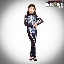 Halloween Carnival Party Costume Children's Terror Skeleton Halloween Skeleton Ghost Costume