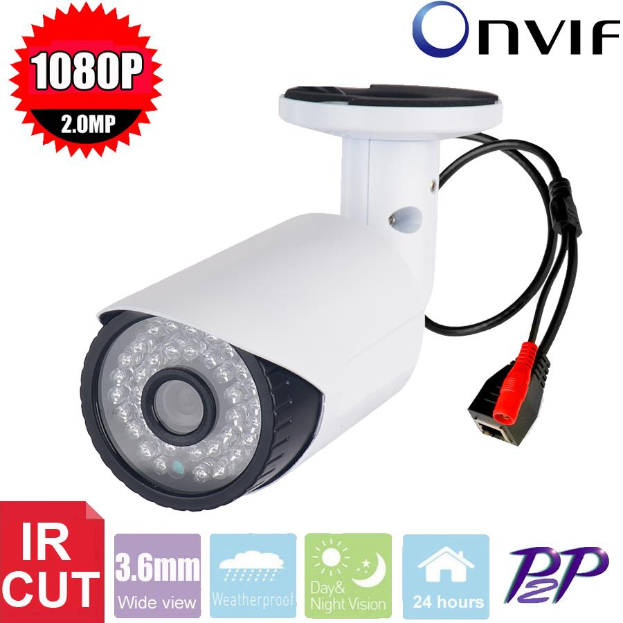 Vanxse CCTV HD 1080P 2.0MP 36LEDs IR-CUT 3.6mm Outdoor Bullet Network IP Security Camera D/N P2P IP camera Surveillance+Bracket<br><br>Aliexpress