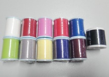 13 color fishing rod guides wrap thread 100 yards NCP rod building wrapping(China)
