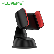 FLOVEME Mini 360 Degree Rotating Nano Silicone Sucker Car Phone Holder For iPhone X 8 6 7 Plus Stable Mobile Phone Holder Stand