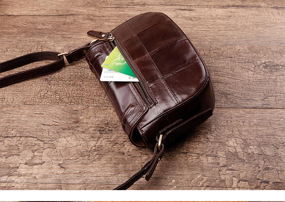 حقيبة جلد طبيعي للنساء 9