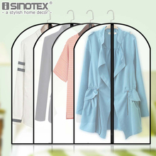 1 PCS White Color Must-have Home Waterproof Garment Bag Clothes Suits Dust Cover Dust Bags Storage Protector Organizer Bag(China)