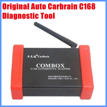 100% Original Diagnostic Tool Wireless Auto Carbrain C168 Scanner Update Via Offical Website Free Shipping(China)
