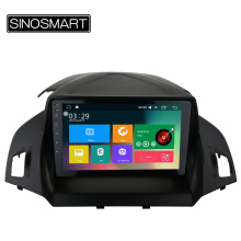 SINOSMART 9'' Support 4G RAM 2G/1G Android 5.1 Car Audio GPS Navigation Player for Ford Kuga Escape 2013-2015 with Canbus