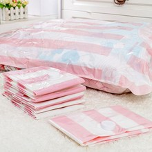 Vacuum Bag Large for Cotton Quilt Vacuum Packing Clothes Storage Bags Wardrobe Closet Organizer Garment Bag 110*80cm