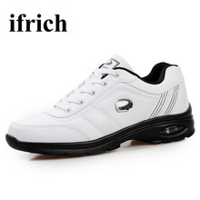 Ifrich Cool Sneakers for Men Big Size Designer Sneakers Men Spring Autumn Men Sport Shoes Brand Black Brown Mens Athletic Shoes