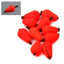 Maximumcatch 20pcs Tear Drop Indicator Fishing Float 14.4*9.9mm/19.2*11.68mm Yellow/Red Color Fly Fishing Strike Indicator(China)