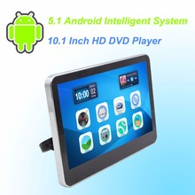 Car  Headrest DVD Player Android 5.1 HD 10.1 Inch Monitor HD Quad Core (4 Core)  WIFI Capacitive Touchscreen - One PCS