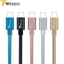 Twitch 1M High Quality Cable Fast Charger Adapter USB Cable For iphone 6s plus i6 i5 5 5s ipad air2 Power Phone Cables
