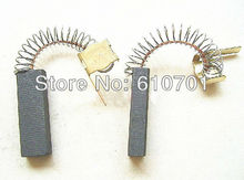 2pcs AS42 6x10x30mm Motor Carbon Graphite Brushes Springs &Wick Power Electric Tool for Midea QW12 Series Cleaner/Dust Collector