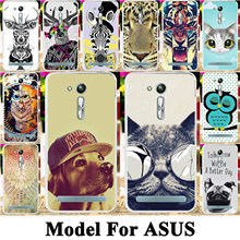 Silicone Plastic Phone Case For Asus ZenFone Go ZB551KL ZC500TG Z00VD ZB500KL ZC451TG ZB452KG X014D ZB450KL Bag Shell Cover Case