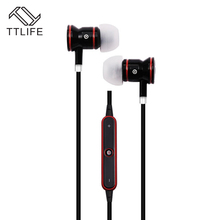 TTLIFE S9 Bluetooth CSR 4.0 Sweatproof Earphones Noise & Echo Cancellation Headphone Wireless Sports Headset with Mic for Xiaomi(China)