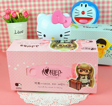 Kawaii Hello Kitty Home Kitchen Office Wall Mounted Type Plastic Tissue Box Holder Can Be Extend