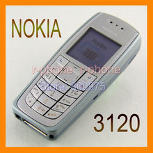 Refurbished Origianl Brand Nokia 3120 Mobile Phone GSM Tri-Band Unlocked 3120c Cellphone Russian Arabic Keyboard