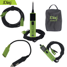 2017 JDiag BT-100 Battery Tester Support 12V Cars and 24V Trucks Better Than YD208/PT150/PS100/Car Battery Testing Tool(China)