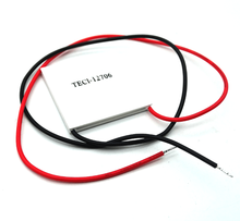 5pcs/lot TEC1-12706 12706 TEC Thermoelectric Cooler Peltier 12V New of semiconductor refrigeration TEC1-12706