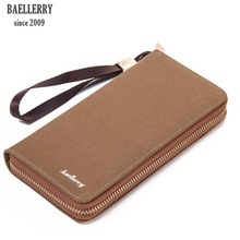 2017 baellerry famous brand new kashelek visiting cards luxury canvas man's clutch wallets, original koshilek leather wallet men(China)