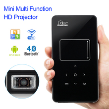U9P Android Bluetooth 4.0 2.4G/5.85G Dual Frequency WIFI Mini Multi-function HD LED Projector Home Theater TV Beamer W/Tripod