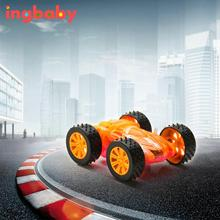 1pc Light Car Two-sided Glowing Dumper Light-emitting Double-sided Car Model Children's Car Toy Stunt Toy Car Model Toy ingbaby(China)