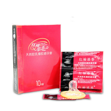 10pcs Yarun Latex Condoms Safe Contraception Camisinha Lot Lubricant Sex Toys For Men(China)